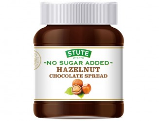 New No Sugar Added Hazelnut Chocolate Spread