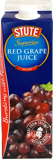100% Pure Red Grape Juice - Freshly Pressed