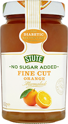 No Sugar Added Fine Cut Orange Marmalade