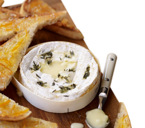 Camembert with Fine Cut Marmalade Soldiers